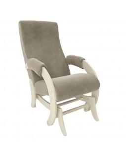 Кресло-глайдер Модель 68M Verona vanilla сливочный