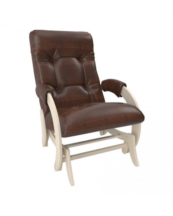 Кресло-гляйдер Модель 68 экокожа сливочный