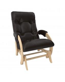 Кресло-глайдер Модель 68 экокожа натуральный