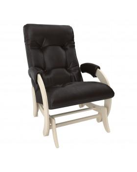 Кресло-глайдер Модель 68 экокожа сливочный