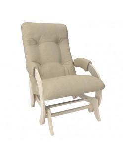Кресло-глайдер Модель 68 Мальта сливочный