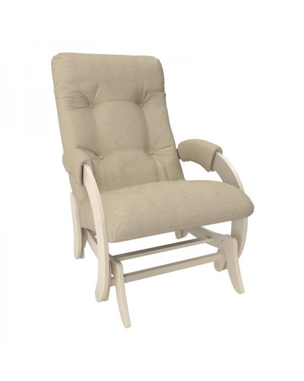 Кресло-гляйдер Модель 68 Мальта сливочный
