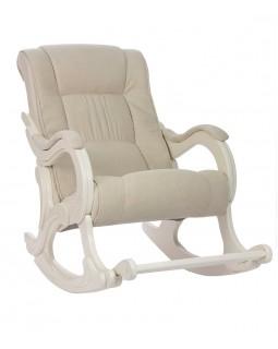 Кресло-качалка, Модель 77 Verona Vanilla сливочный