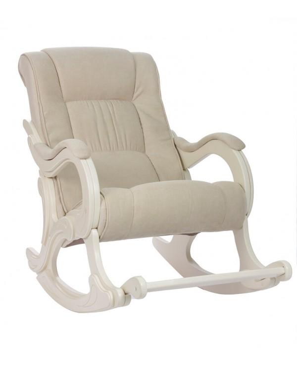 Кресло-качалка, Модель 77 Verona  сливочный