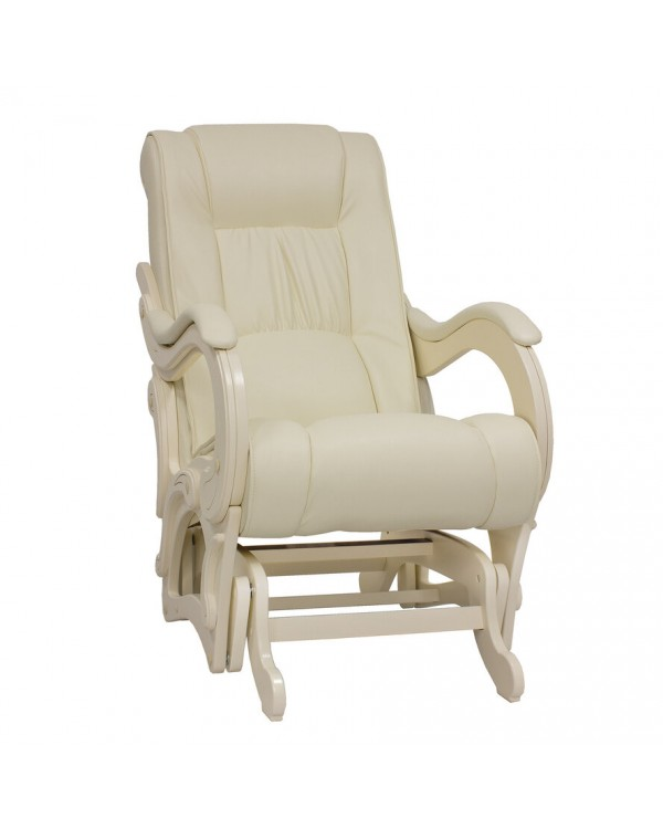 Кресло-гляйдер, Модель 78 экокожа сливочный