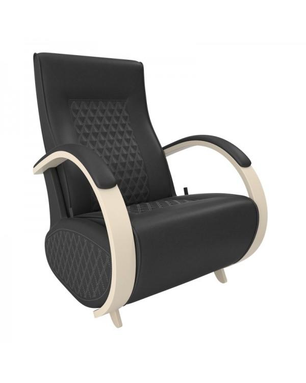 Кресло гляйдер Balance-3 экокожа сливочный