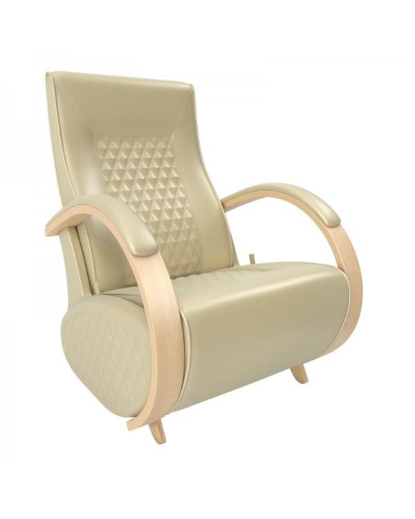 Кресло гляйдер Balance-3 экокожа натуральный
