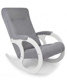 Качалка кресло 3 белые ноги