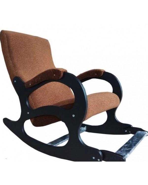 Кресло-качалка Бастион 4-2 с подножкой ткань
