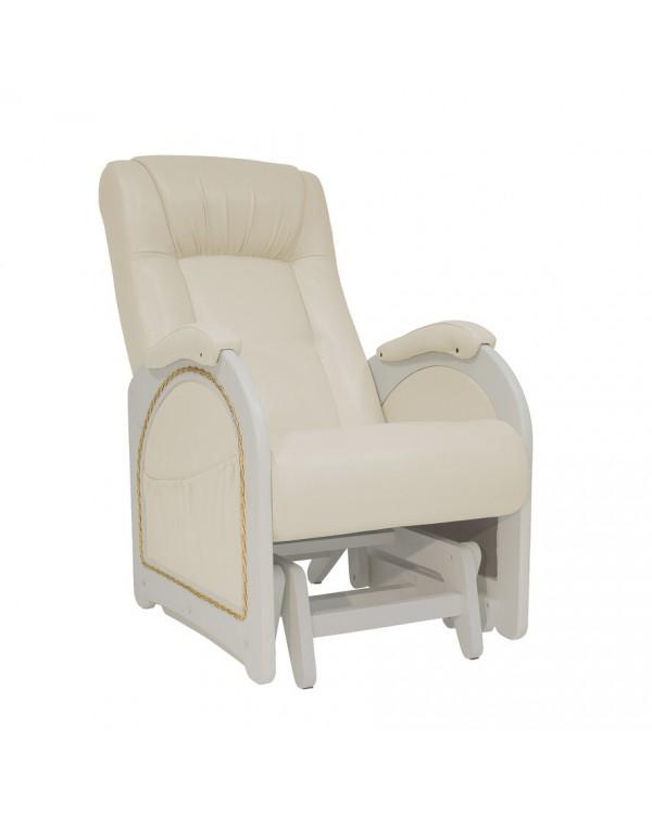 Кресло-гляйдер Модель 48 экокожа сливочный