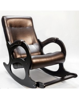 Кресло 2 с подножкой экокожа