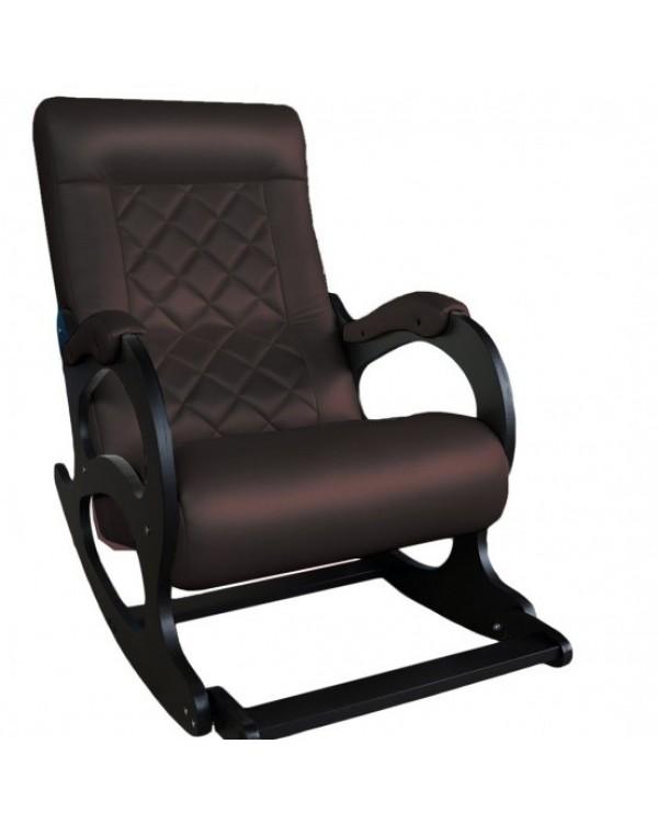 Кресло-качалка Бастион с подножкой 2 экокожа