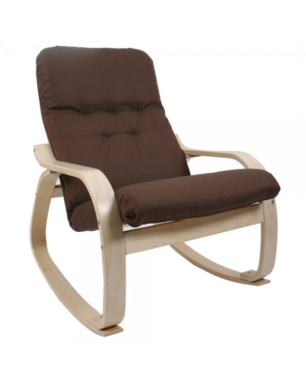 Кресло-качалка Сайма натуральный