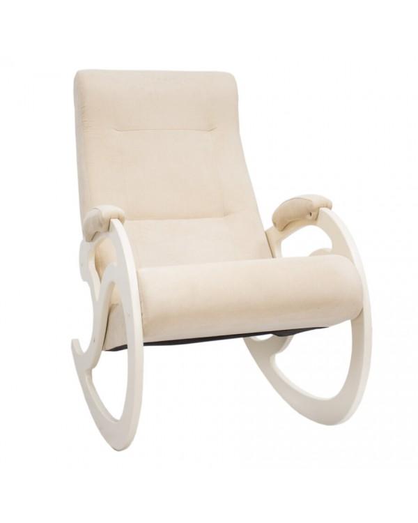 Кресло-качалка, Модель 5  Verona сливочный