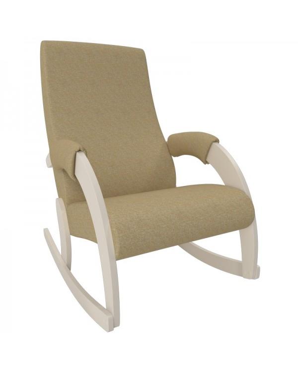 Кресло-качалка, Модель 67M  Мальта Сливочный