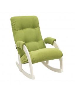 Кресло качалка Модель 67 Verona сливочный