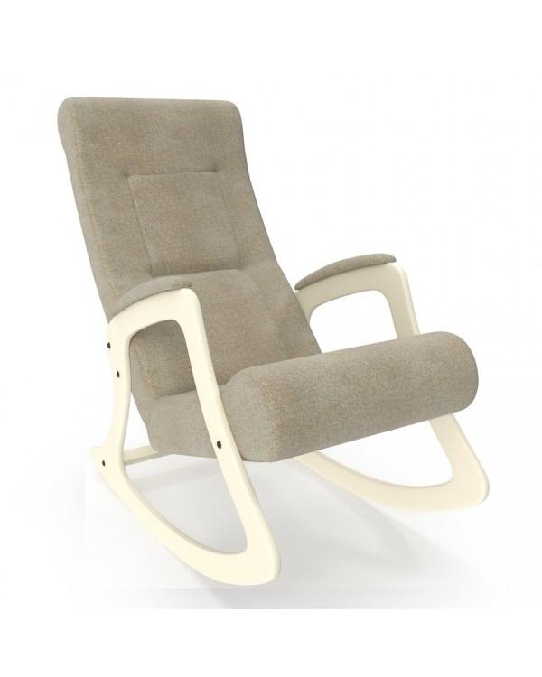 Кресло-качалка, Модель 2 Мальта сливочный