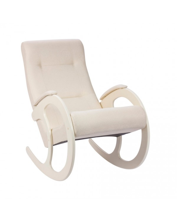 Кресло-качалка, Модель 3 сливочный