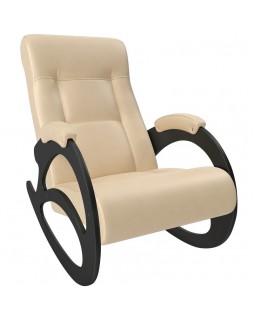 Кресло-качалка, Модель 4 б/л экокожа