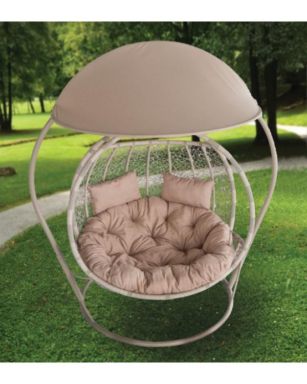 Подвесное кресло Комфорт Галант с навесом