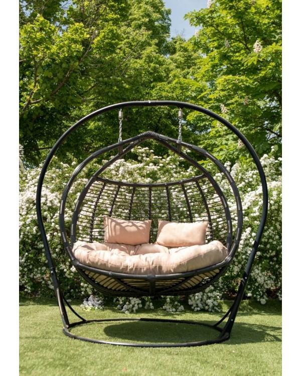 Кресло подвесное кокон Галант Полосатый