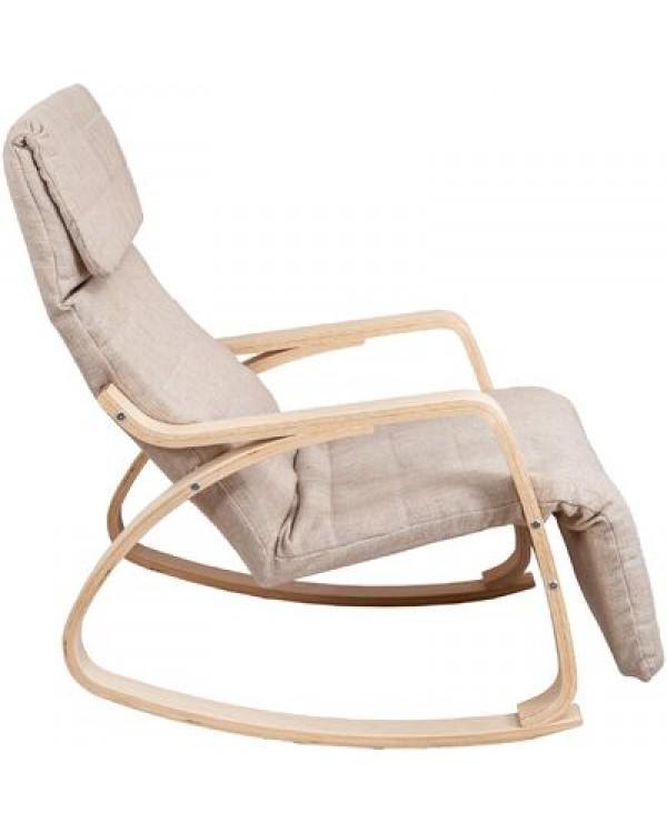 Кресло-качалка SMART бежевый