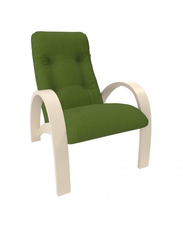 Кресло для отдыха Модель S7 сливочный