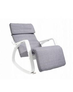 Кресло-качалка Relax F-1105 серое