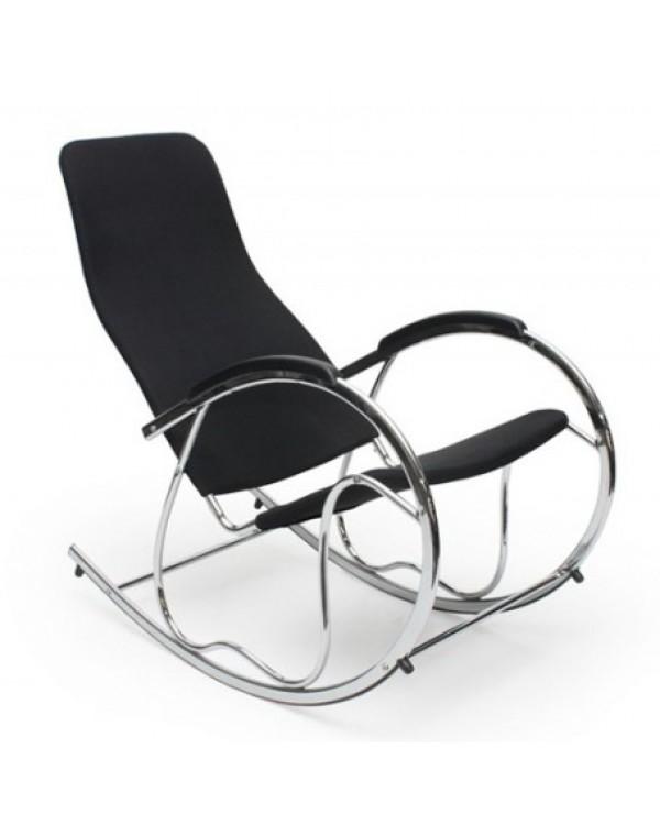 Кресло-качалка HALMAR Ben 2 black