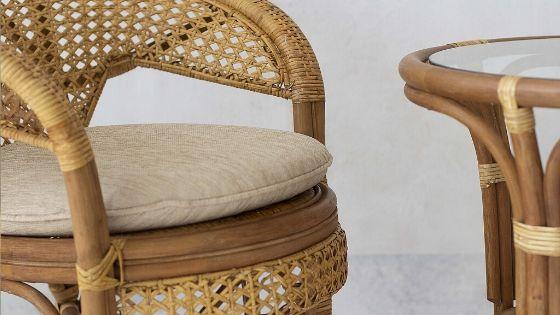 Как изготавливают мебель из ротанга?