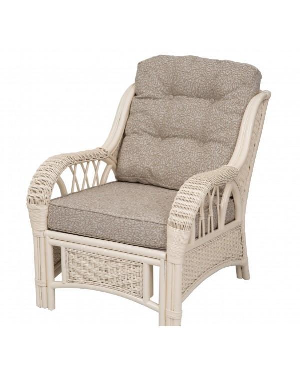 Кресло для отдыха ALEXA белое