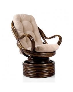 Кресло-качалка Rattandesign Davao с подушкой