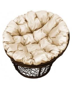 Кресло Papasan коричневый
