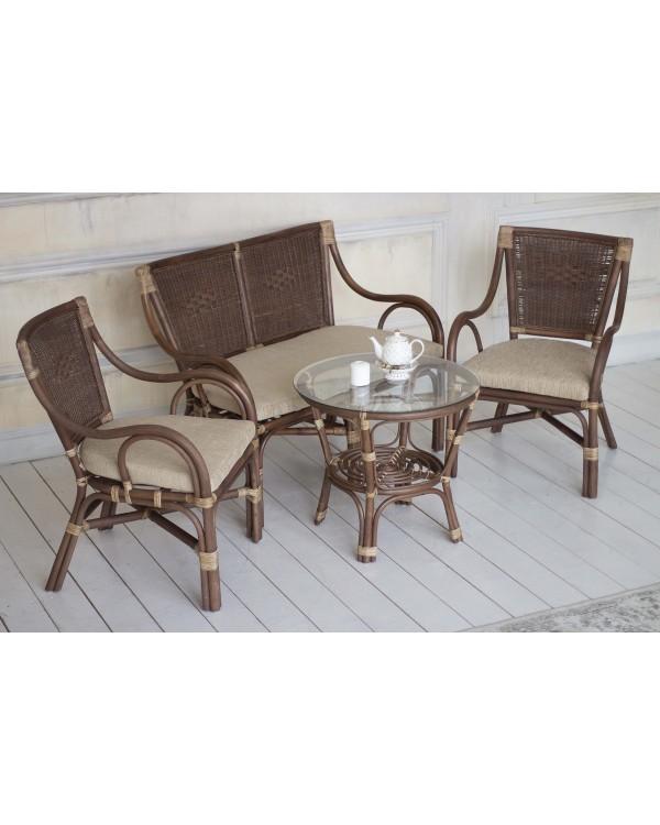 IND Кресло Марина темно-коричневый