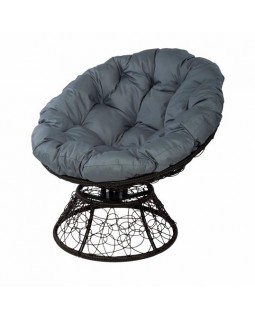 Кресло Papasan с пружиной коричневый